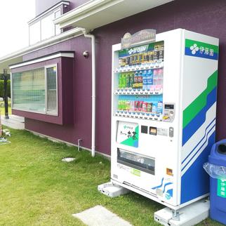 自動販売機が新しくなりました。