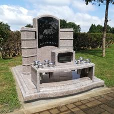 ペット合祀墓を建てました